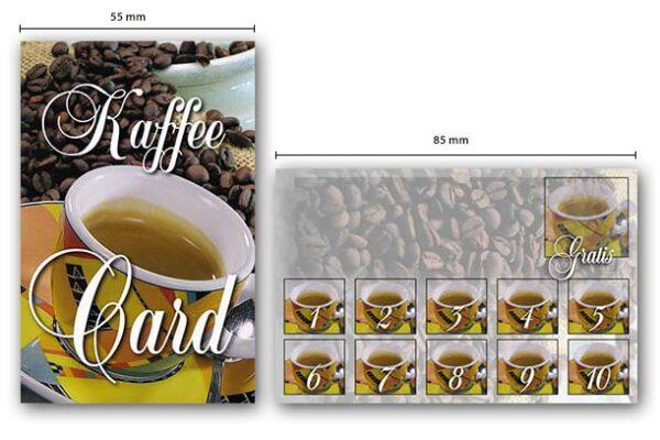 Gutschein-KaffeeCard